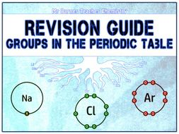 GCSE Chemistry 1-9: Groups in the Periodic Table Revision Guide