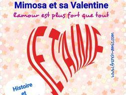 Saint Valentin - French reading - Une histoire d'amour
