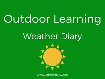 Outdoor Resources - Weather Diary