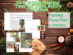 UKS2 Guided Reading - 'Twas the Night Before Christmas