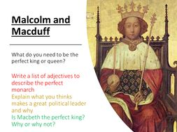 Macbeth - Malcolm and Macduff
