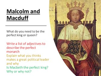 Macbeth - Malcolm and Macduff