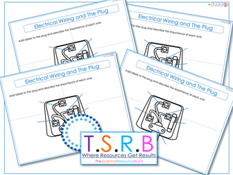 Surprising Plug Label Task By Thescienceresourcebank Teaching Resources Tes Wiring Cloud Tobiqorsaluggs Outletorg
