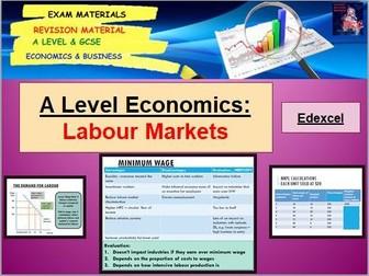 Labour Market Assessment Questions: A Level Economics