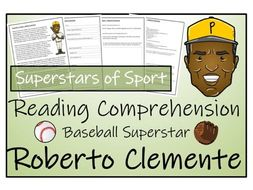 UKS2 Literacy - Roberto Clemente Reading Comprehension