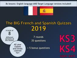 The BIG Language Quizzes Super Pack