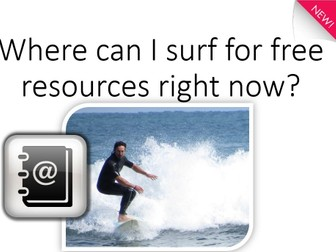 Links to quick,  free internet resources KS1-5, SEN, All subjects and abilities