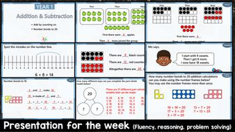 Year-1---PRESENTATION---Addition---Subtraction---Week-1.pptx