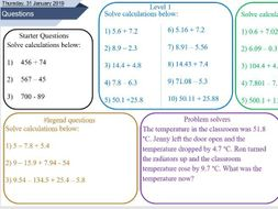 adding and subtracting decimal numbers worksheet by osmith  adding and subtracting decimal numbers worksheet