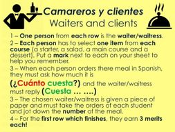 Ks34 Spanish En El Restaurante Ordering Food 2 By Tcnewman