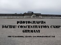 Photographs for Classroom and Professional Use: Dachau