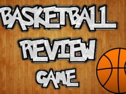 Basketball Review (Google Slides Game Template)