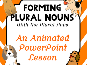 Forming Plurals COMPLETE LESSON PLAN