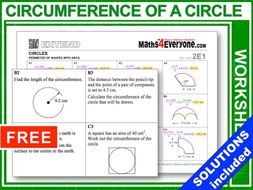 Pi and the Circumference of Circles (Complete Unit)