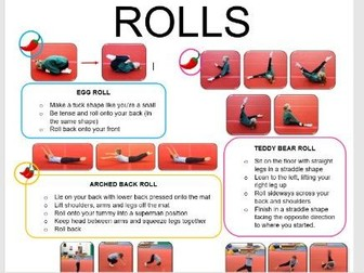 Gymnastics Rolls
