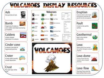 Volcanoes - display resources