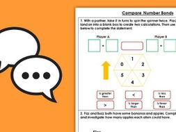 Year 1 Compare Number Bonds Autumn Block 2 Maths Discussion Problems