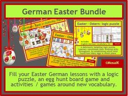 German Easter 3 resources in one BUNDLE