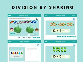 Division by Sharing - Year 1, Key stage 1