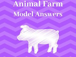 'Animal Farm' A* GCSE Model Answers: Revision Pack