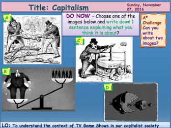 Media Institutions 2 Capitalism GCSE Media Studies UNIT 1 Media Exams TV Game Shows