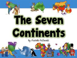 The Seven Continents: Features, Activities, Mini-Book