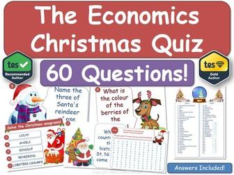 Economics Christmas Quiz