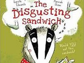KS1 Instruction Writing Lesson-The Disgusting Sandwich