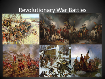 The Revolutionary War Battle Map
