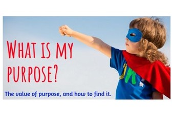 Purpose - How Do I Find Mine?