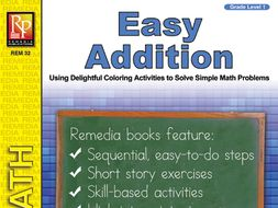 Easy Addition: Coloring Activities