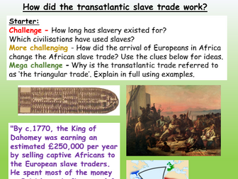 Triangular Trade Slavery