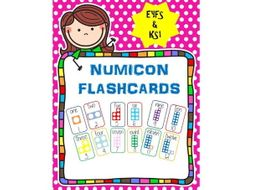 Numicon Flashcards to 20