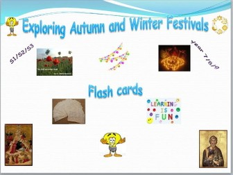 Exploring Festivals Flash Cards