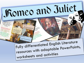 Romeo and Juliet - Romeo and Juliet Bundle