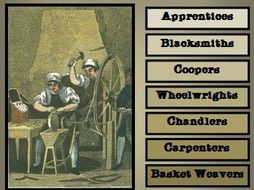 Colonial American Careers: Craftsmen and Tradesmen, Volume 2