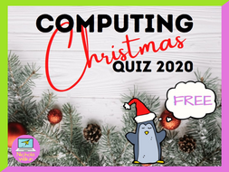 Computing Christmas Quiz 2020