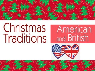 Christmas traditions (American and British)