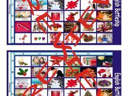 Christmas Battleship Board Game