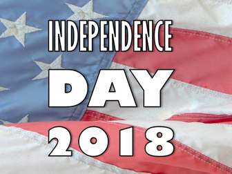 Independence Day 2018 Presentation and Quiz Worksheet: American, lesson, 4th July,  fourth, activity