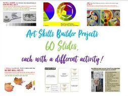 Art -  Complete PowerPoint - 60 Slides!