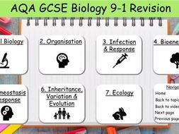 AQA GCSE Science Biology Revision 9-1