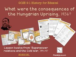 Edexcel GCSE Cold War L12 'What were the consequences of the Hungarian Uprising?'