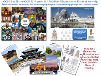 GCSE - Buddhism -Lesson 15 [Buddhist Pilgrimages, Temples & Sacred Places] New Specification