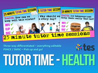 Health - Tutor Time