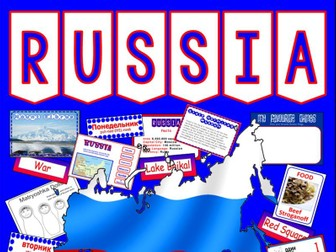 RUSSIA RUSSIAN CULTURE DIVERSITY TEACHING RESOURCES LANGUAGE GEOGRAPHY