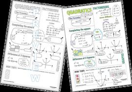 Doodle-Notes---Quadratics-(UK)-completing-the-square-factorising-quadratic-formula-OR.zip