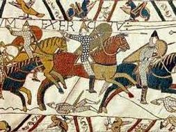 How did the Normans take and keep control of England?
