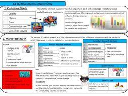 GCSE Business theme 1 BUMPER PACK