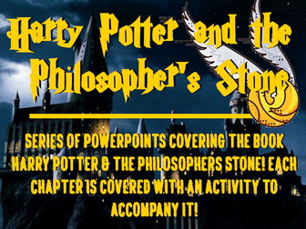 Harry Potter and the Philosopher's Stone PowerPoints